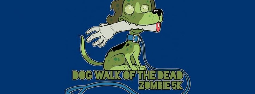 DFW Dog Walk of The Dead Zombie 5k