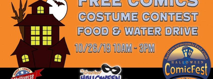 Halloween ComicFest @ The Multiverse
