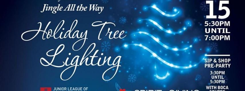 Jingle All the Way Holiday Tree Lighting