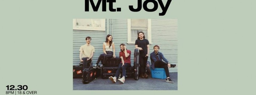 A New Year's Eve Celebration with Mt. Joy 12/31