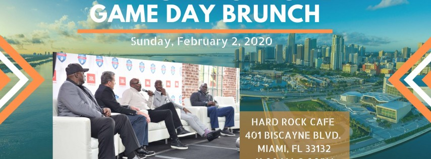 NFL Alumni Official Super Bowl Game Day Brunch Presented by JBL 2020
