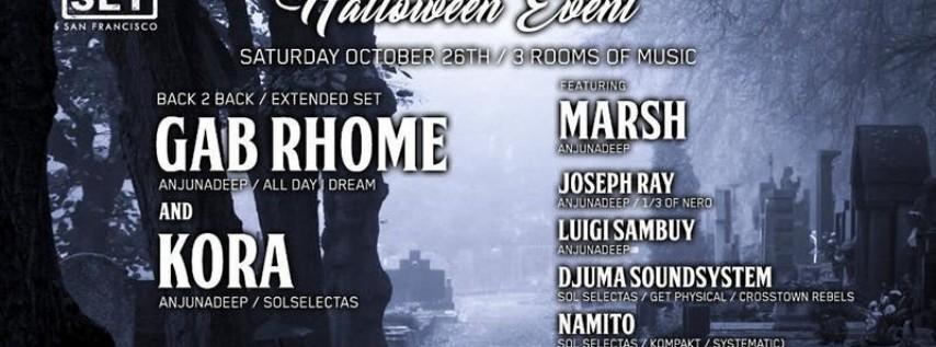 Anjunadeep's Gab Rhome, Kora, Joseph Ray, Marsh & more on Halloween Wknd
