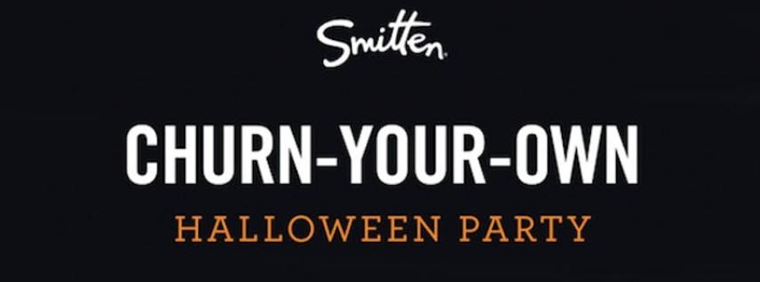 Smitten's Churn-Your-Own Ice Cream Halloween Party