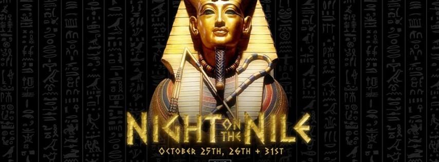 Night On The Nile Halloween 10/31