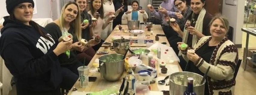 Halloween Cupcake Class with IntoxiCakes