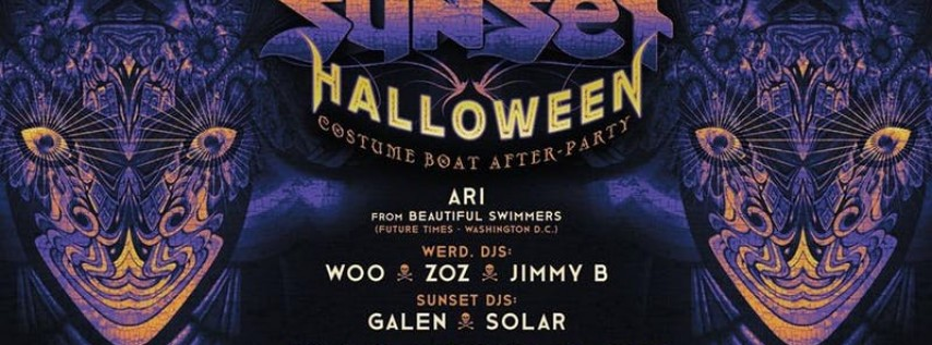 Sunset Sound System Halloween Boat After-Party 2019 21+