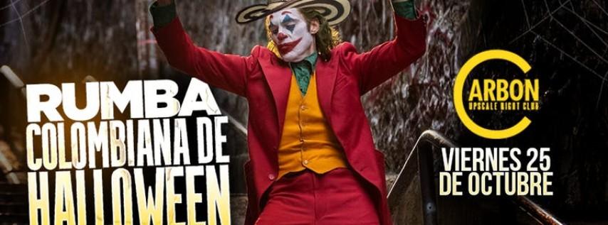 Halloween Colombiano GRATIS @ Carbon