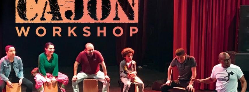 Percussion: Afro-Peruvian Cajon