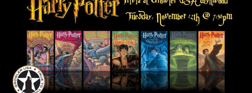 Harry Potter Books Trivia at Growler USA Wynwood