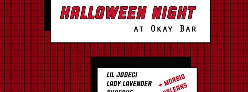 Halloween at Okay Bar