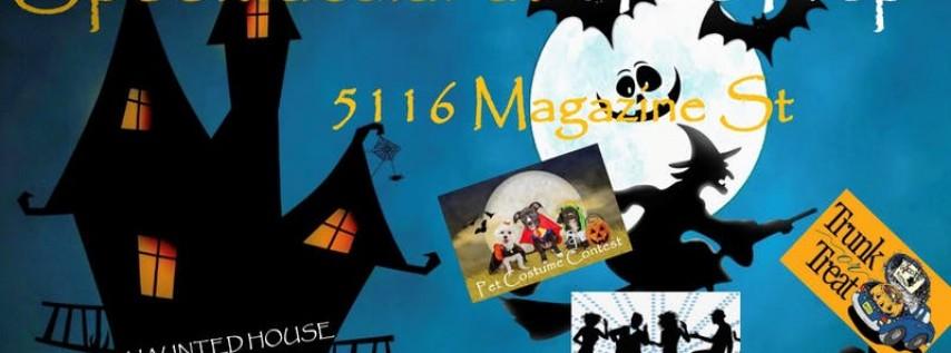 Spooktacular Halloween Haunted House @ The Prep on Magazine Wednesday10/30
