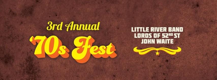 3rd Annual '70s Fest