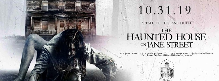 The Jane Hotel's Haunted House Halloween 2019 NYC