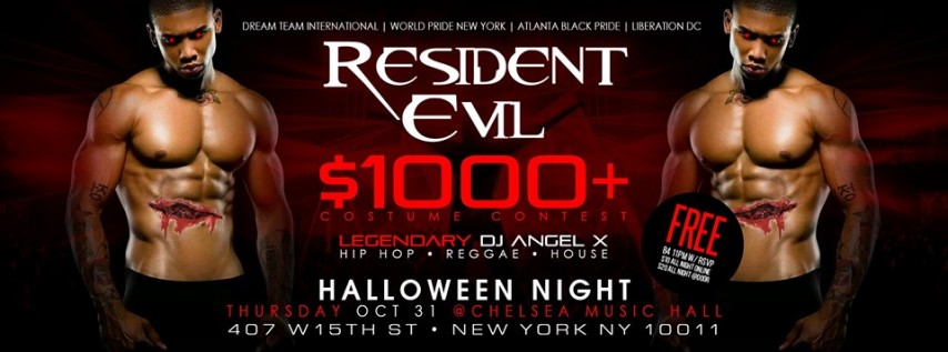 #NYC $1000+ HALLOWEEN NIGHT HIP HOP MEGA PARTY & COSTUME CONTEST