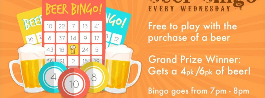 Humpday Beer Bingo!