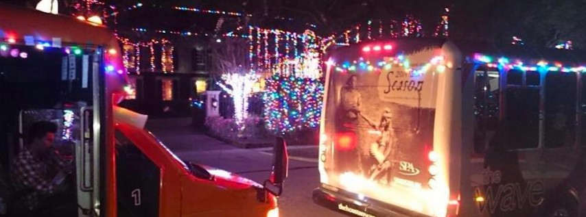 8th Annual Holiday Lights Tour on The Wave