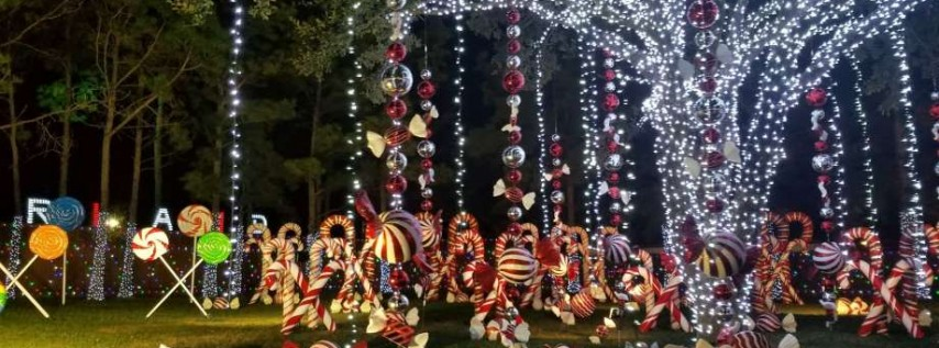 Candyland Display in Spring Branch