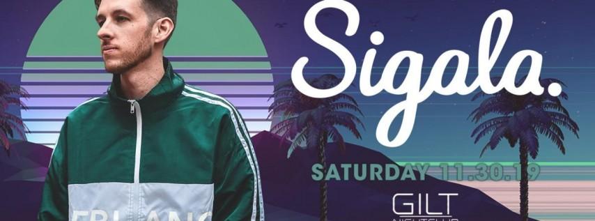 Sigala at Gilt Nightclub