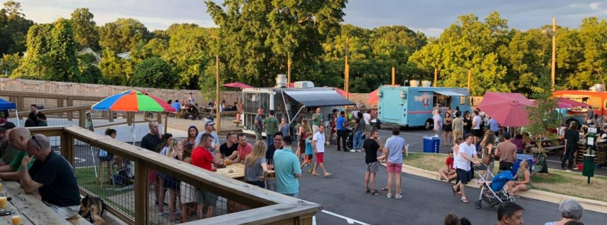 Food Truck Friday Plaza Midwood with Live Music!