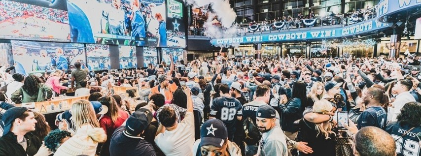 Miller Lite Cowboys Watch Party vs. New England