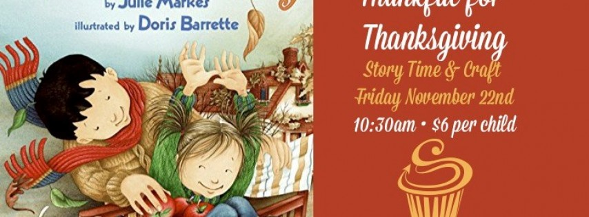 Thankful for Thanksgiving Story Time