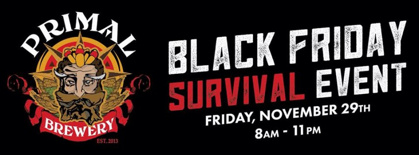 Black Friday Survival Event
