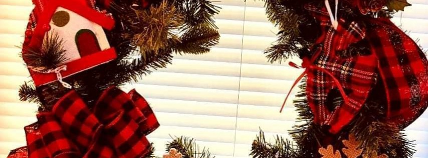 Christmas Wreath & Crafts With Terry