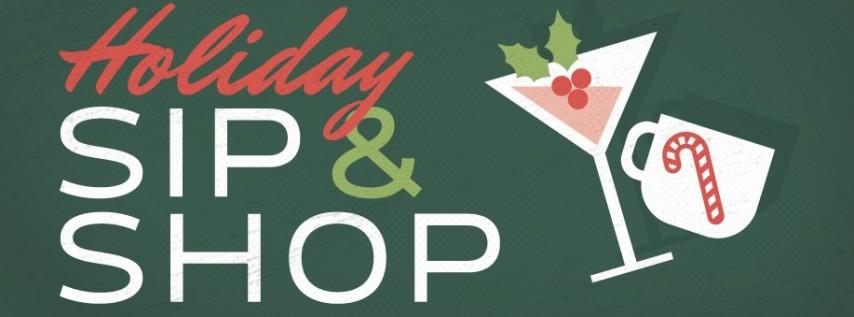 Holiday Evening Sip & Shop