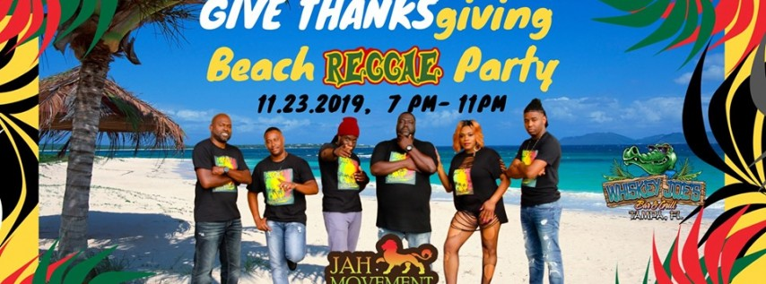 Give Thanks-Giving Beach Reggae Party w/ Jah Movement
