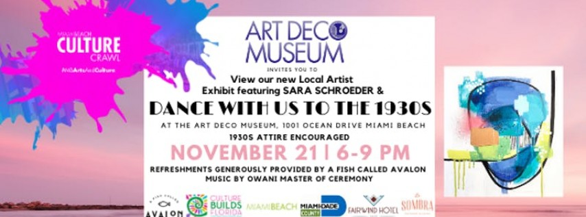 Culture Crawl at the Art Deco Museum - November