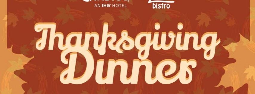 Thanksgiving Dinner at Hotel Indigo