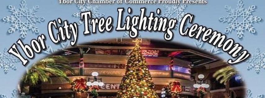 Ybor City's Annual Tree Lighting Ceremony