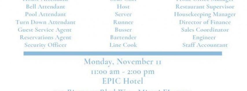 *Open Interviews-November 11th- Kimpton Hotels & Restaurants*