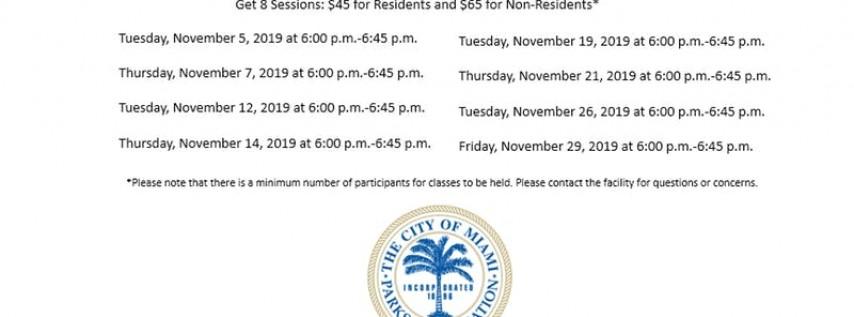 Jose Marti Pool Level 1 Tuesday/Thursday (6:00PM-6:45PM) November