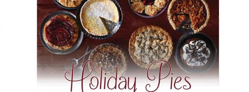 Holiday Pies w/Chef Robyn Markley