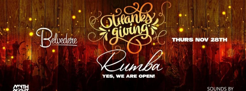 Thanksgiving Rumba @Belvedere