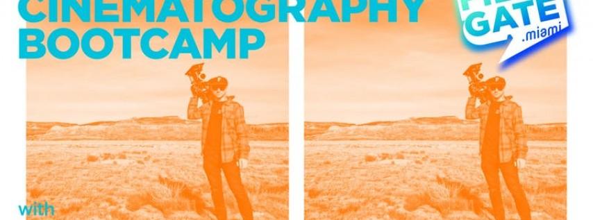FilmGate's Cinematography Bootcamp with Giovanni Fabietti - LEVEL 2