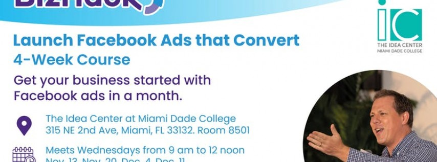 Launch Facebook Ads That Convert