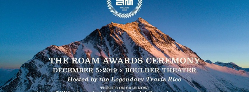 2019 ROAM Awards hosted by Travis Rice at Boulder Theater
