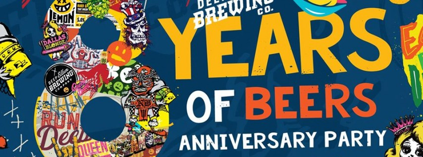 8 Years of Beers