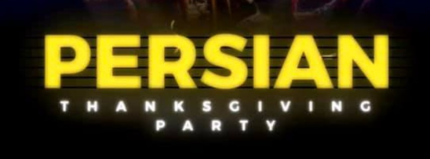 Persian Thanksgiving Party