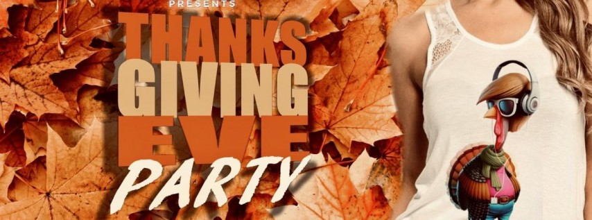 16th Annual Thanksgiving Eve Party at Candleroom
