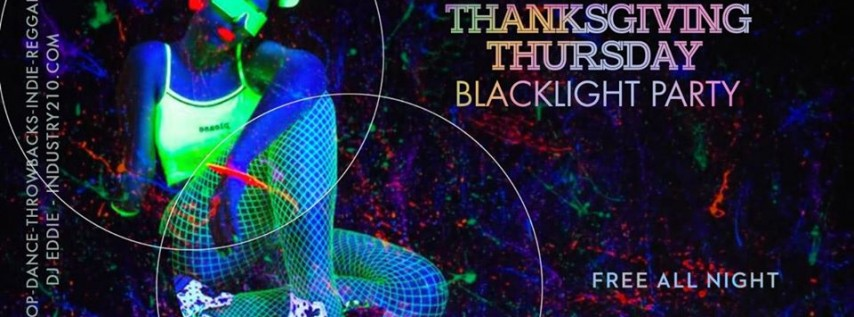 Thanksgiving Blacklight Party
