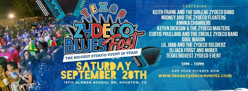 Texas Zydeco & Blues Fest