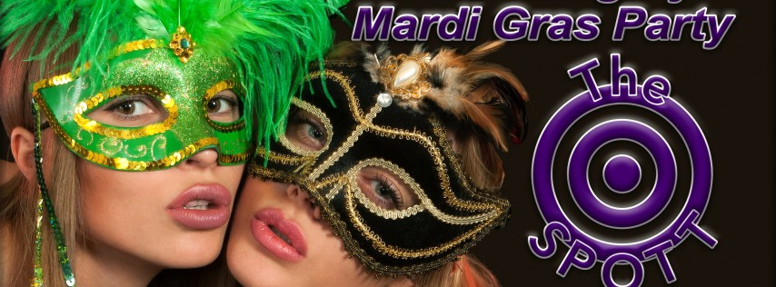 Naughty Mardi Gras Party at The SPOTT