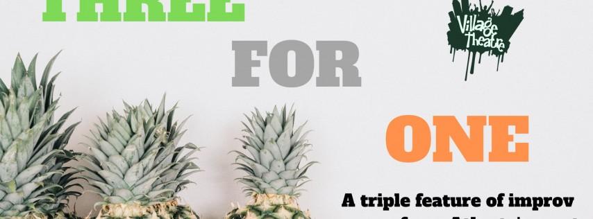 Three For One: Et Cetera, Pineapple Roller Coaster, Cruella