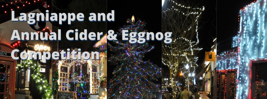 Lagniappe + Annual Cider & Eggnog Competition