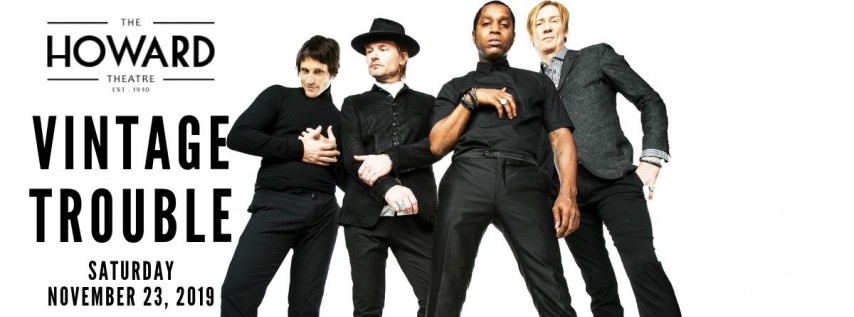 Vintage Trouble At The Howard Theatre