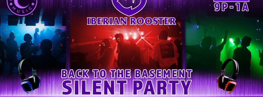 Back to the Basement Silent Party