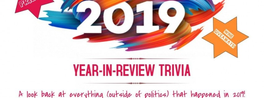 2019: Year In Review Trivia